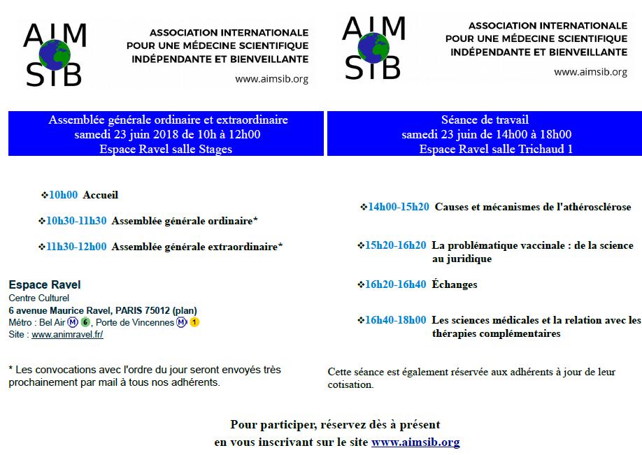 AIMSIB meeting 2018
